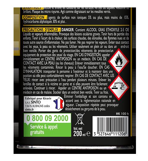 Exemple d'étiquette avec DDS